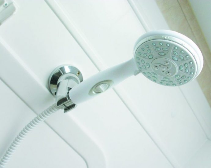 Effective Shower Head Adds Value to your Finished Basement Bathroom