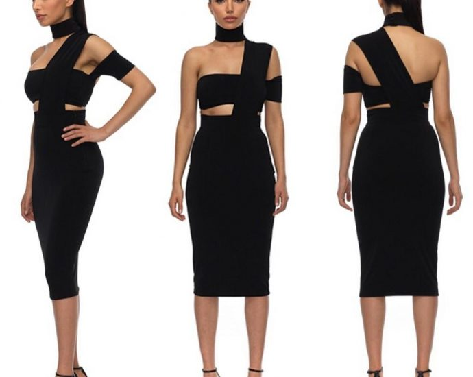A Lot Less Extra With Bandage Dress